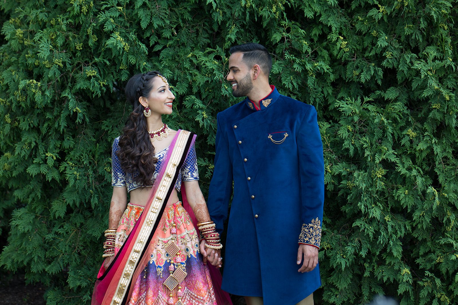 Le Cape Weddings - Puja and Kheelan - Garba A   -63.jpg