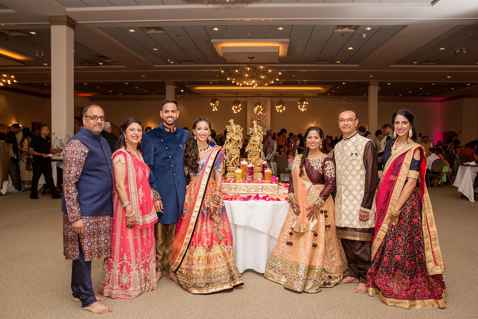 Le Cape Weddings - Puja and Kheelan - Garba A   -184.jpg