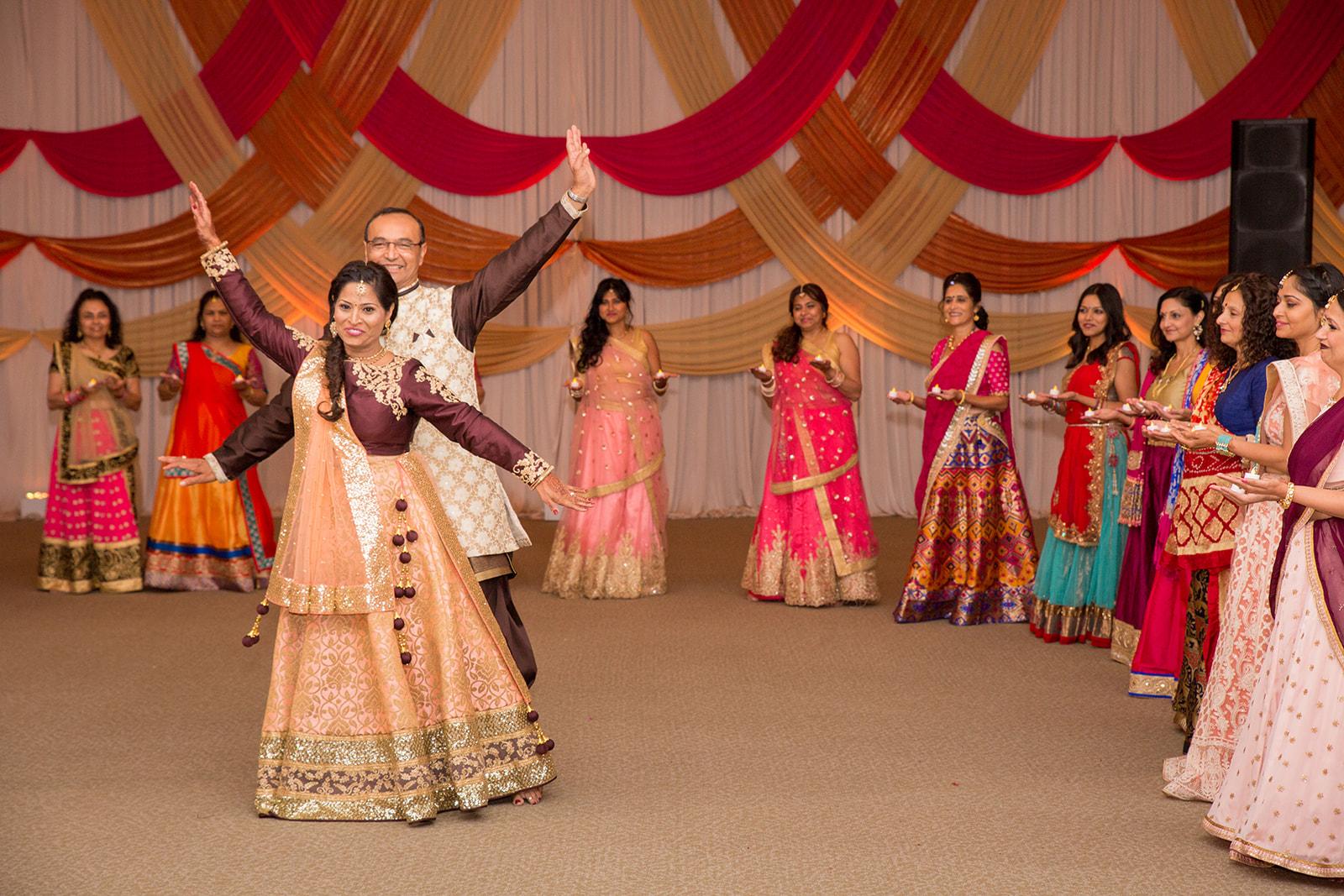 Le Cape Weddings - Puja and Kheelan - Garba A   -253.jpg