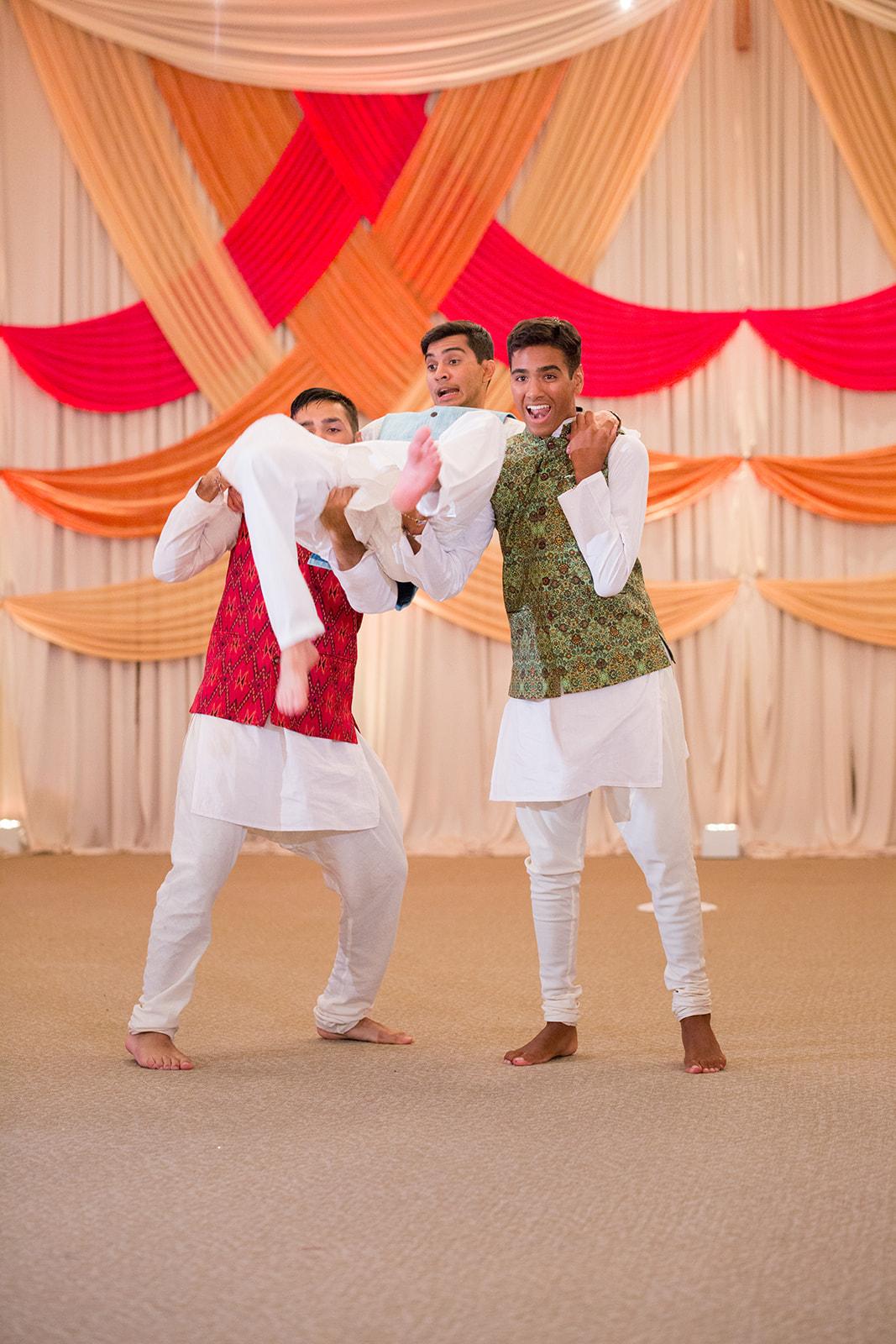 Le Cape Weddings - Puja and Kheelan - Garba A   -265.jpg