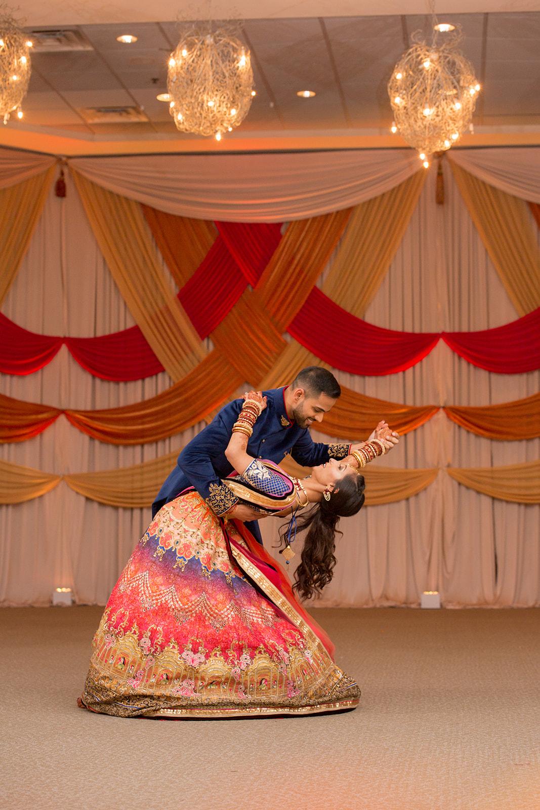 Le Cape Weddings - Puja and Kheelan - Garba A   -279.jpg
