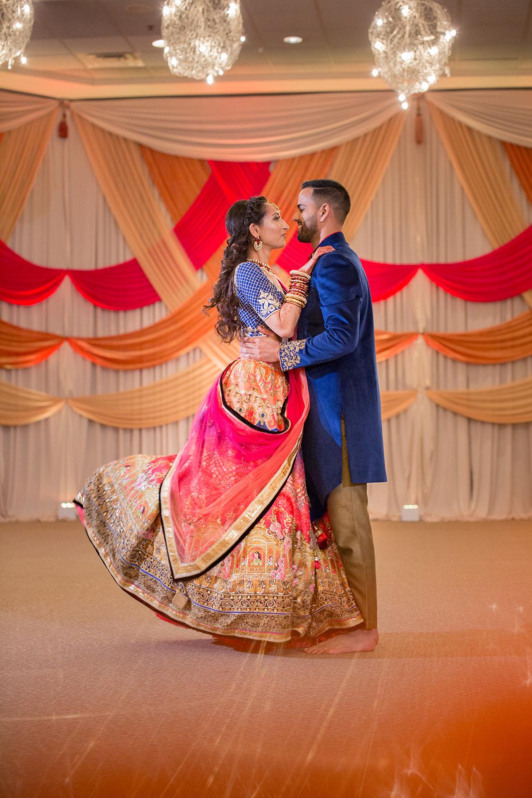 Le Cape Weddings - Puja and Kheelan - Garba A   -280.jpg