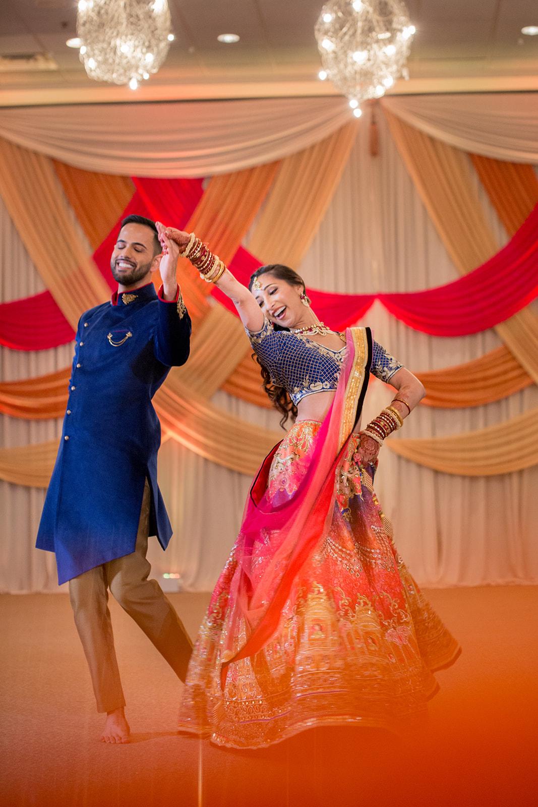 Le Cape Weddings - Puja and Kheelan - Garba A   -281.jpg