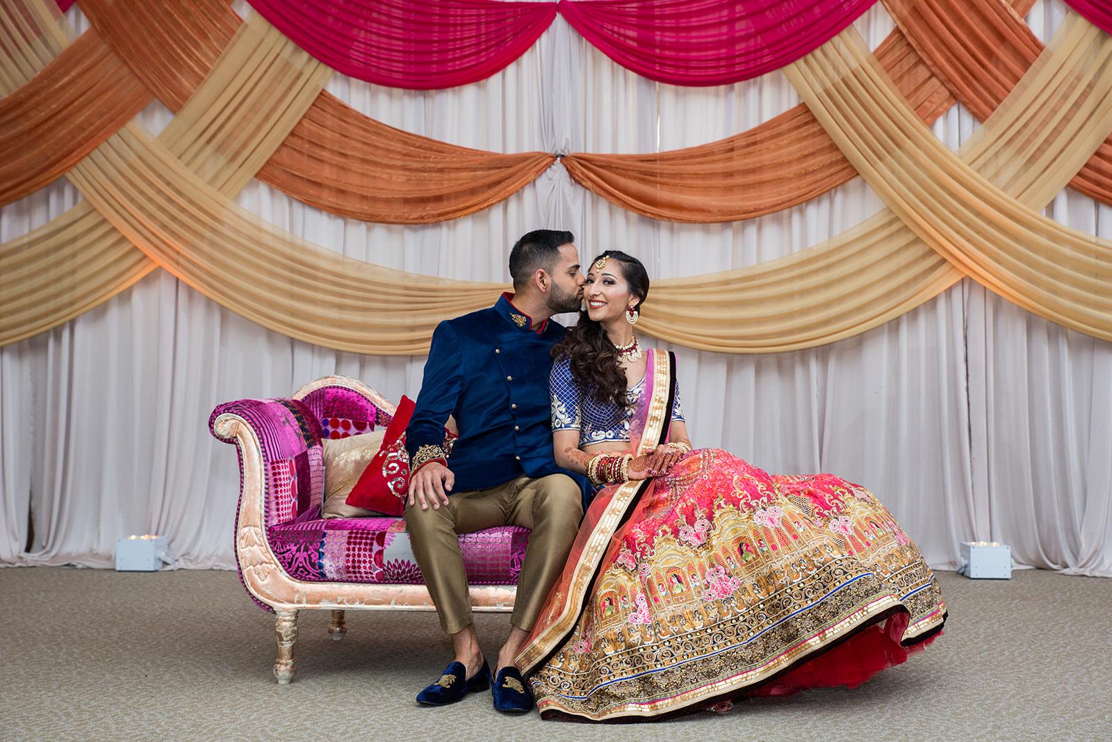 Le Cape Weddings - Puja and Kheelan - Garba A   -105.jpg