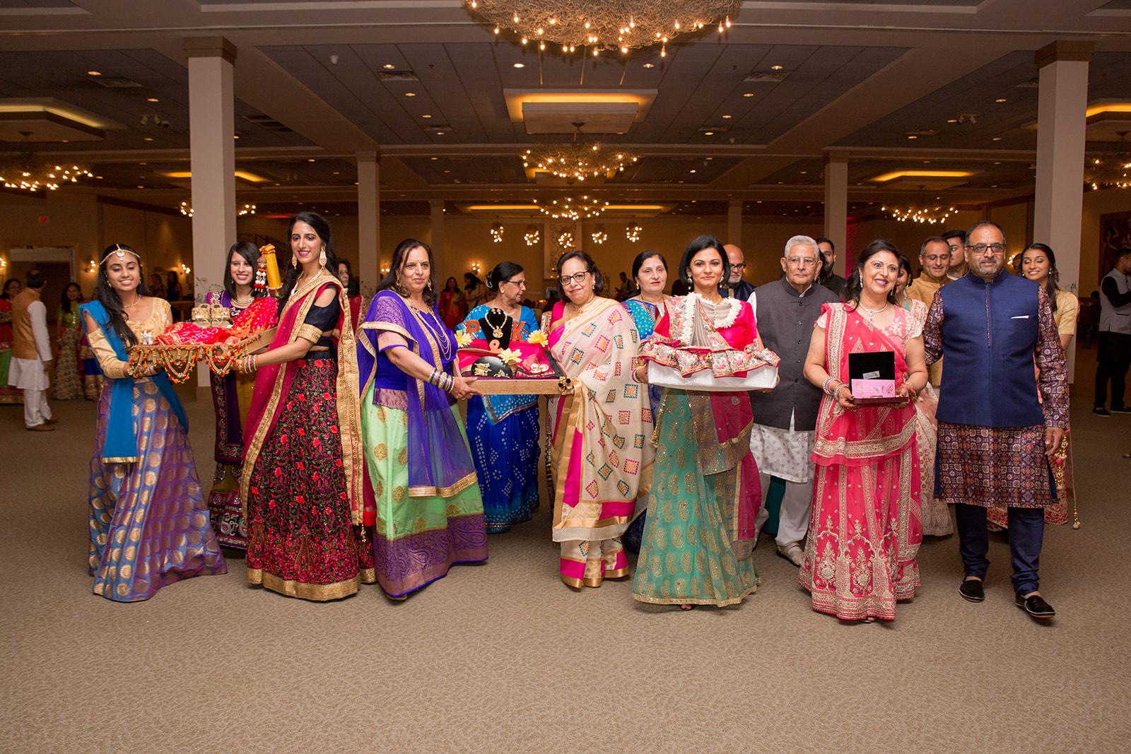 Le Cape Weddings - Puja and Kheelan - Garba A   -112.jpg