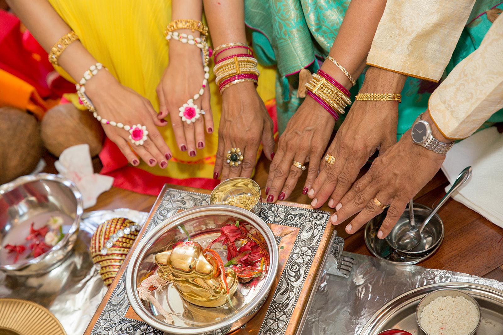 Le Cape Weddings - Puja and Kheelan - Pithi A   -18.jpg