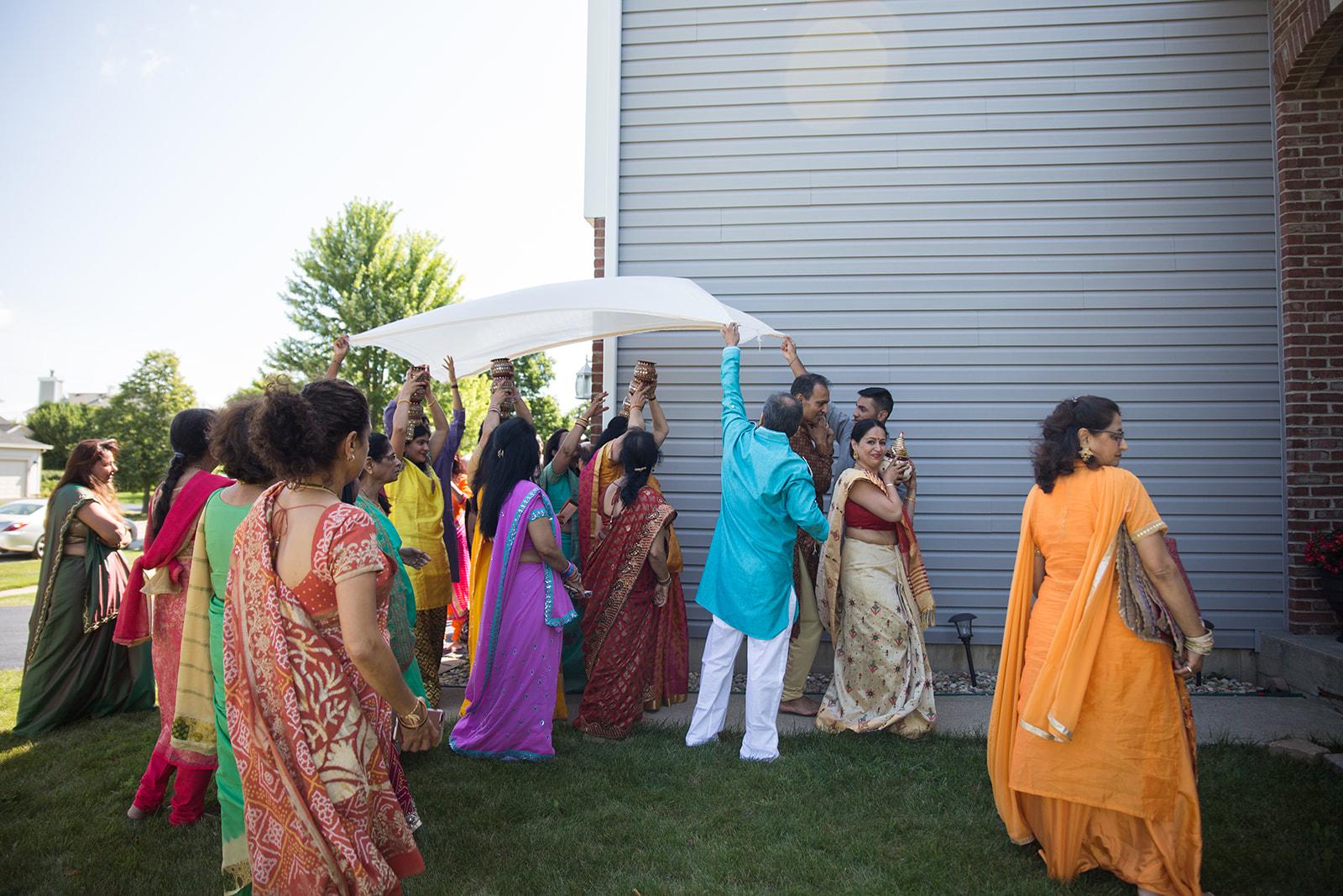Le Cape Weddings - Puja and Kheelan - Pithi A   -66.jpg