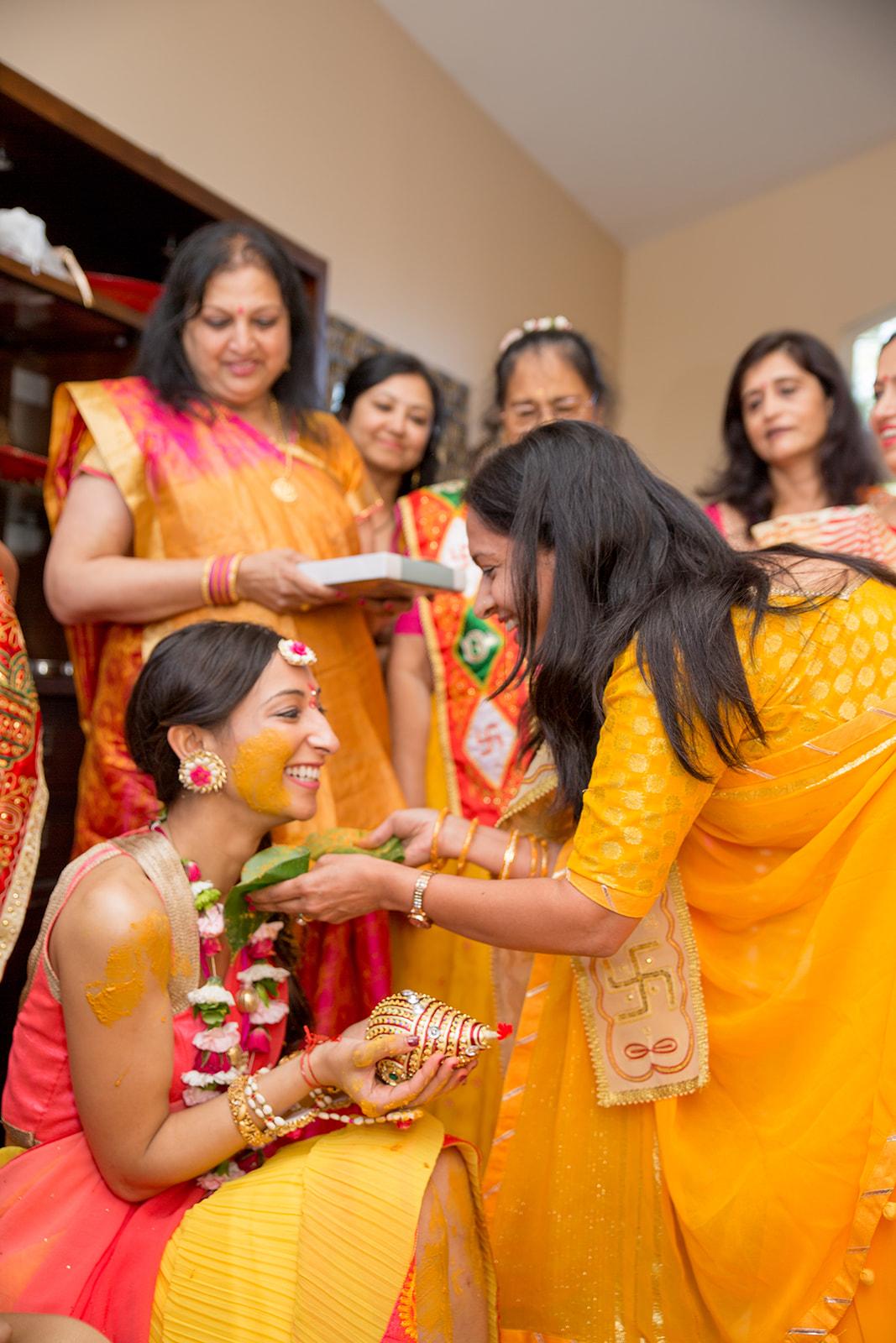 Le Cape Weddings - Puja and Kheelan - Pithi A   -91.jpg