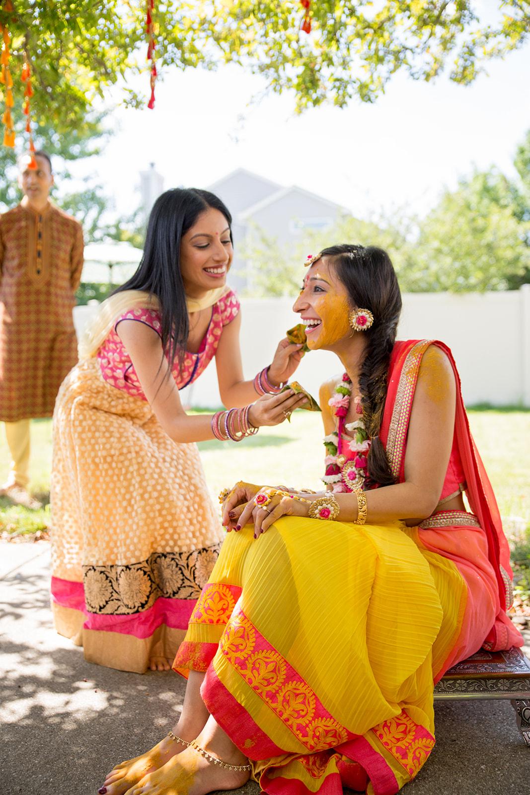 Le Cape Weddings - Puja and Kheelan - Pithi A   -105.jpg