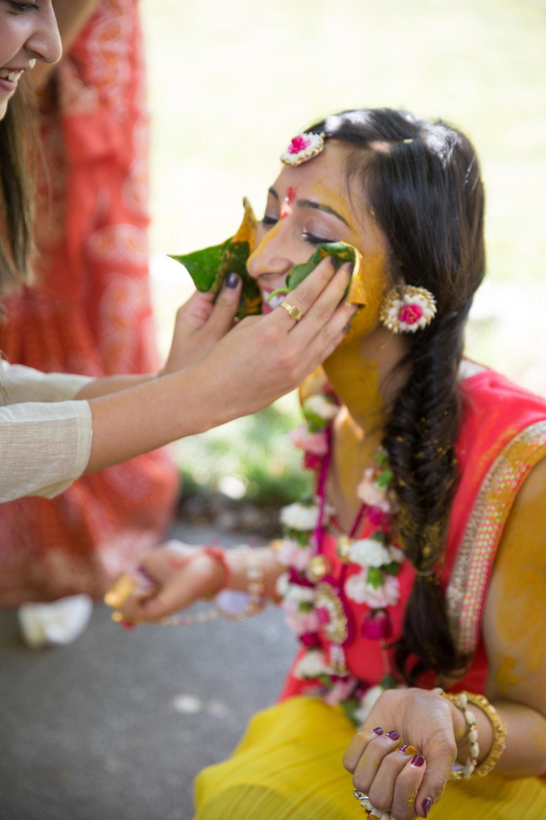 Le Cape Weddings - Puja and Kheelan - Pithi A   -117.jpg