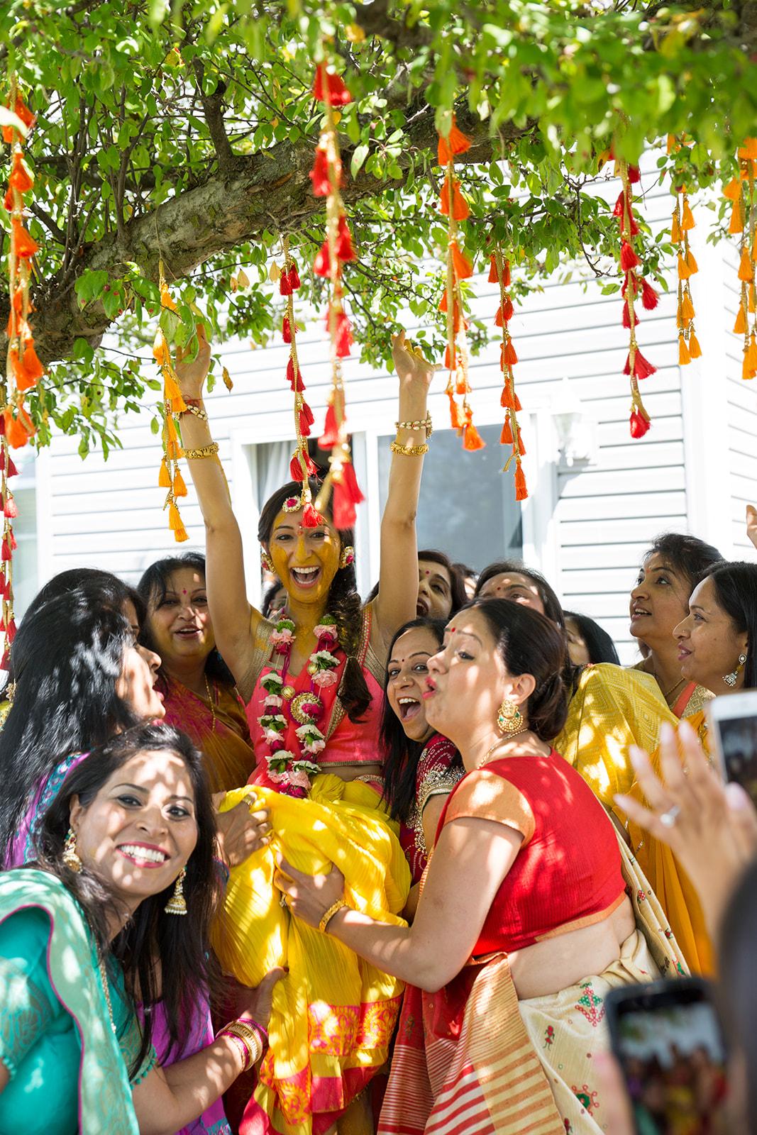 Le Cape Weddings - Puja and Kheelan - Pithi A   -156.jpg