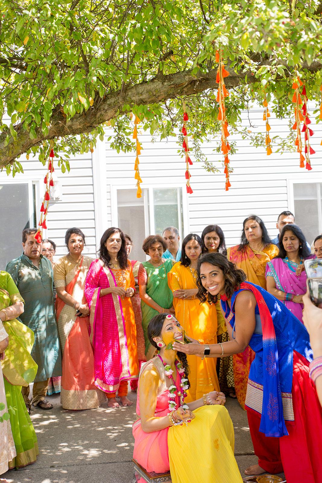 Le Cape Weddings - Puja and Kheelan - Pithi A   -124.jpg