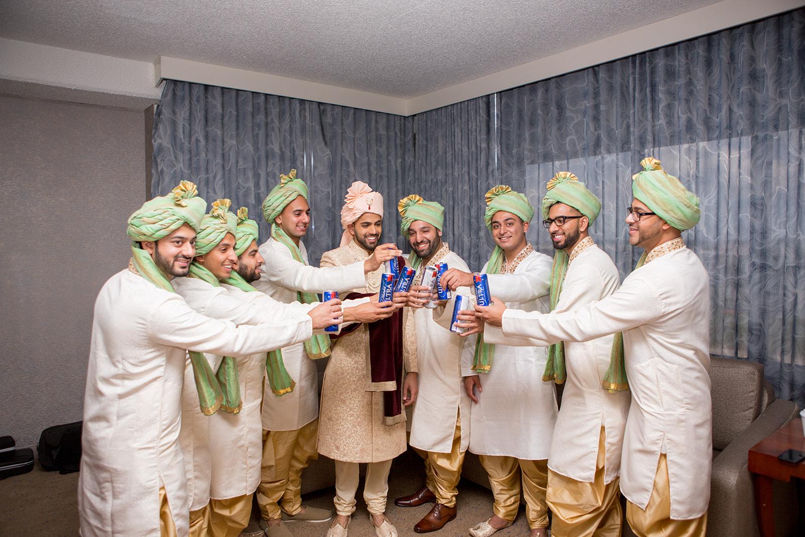 Le Cape Weddings - Puja and Kheelan - Getting Ready Groom-41.jpg