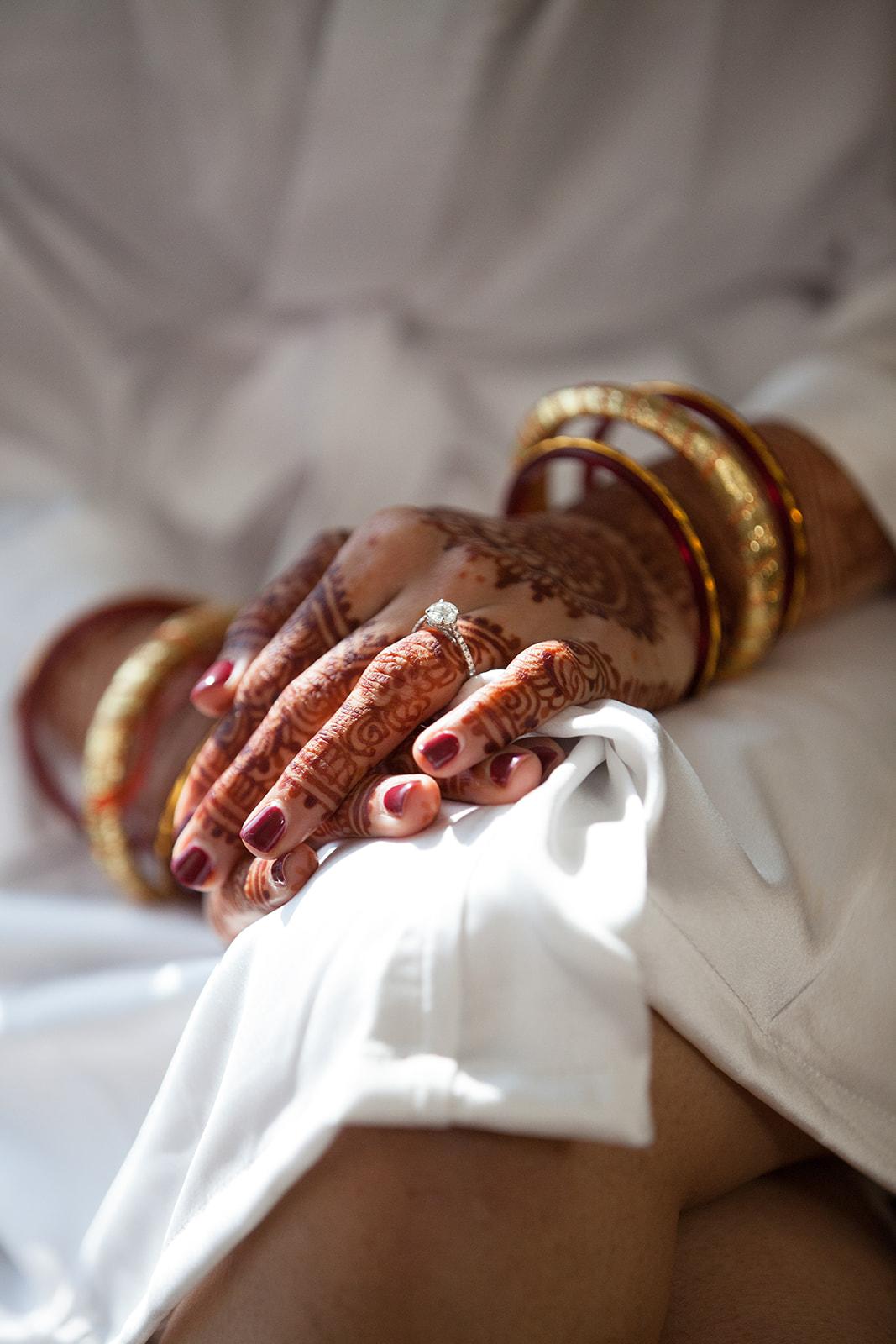 Le Cape Weddings - Puja and Kheelan - Getting Ready Bride -5.jpg