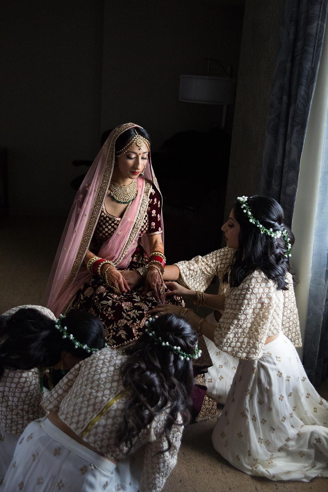 Le Cape Weddings - Puja and Kheelan - Getting Ready Bride -90.jpg