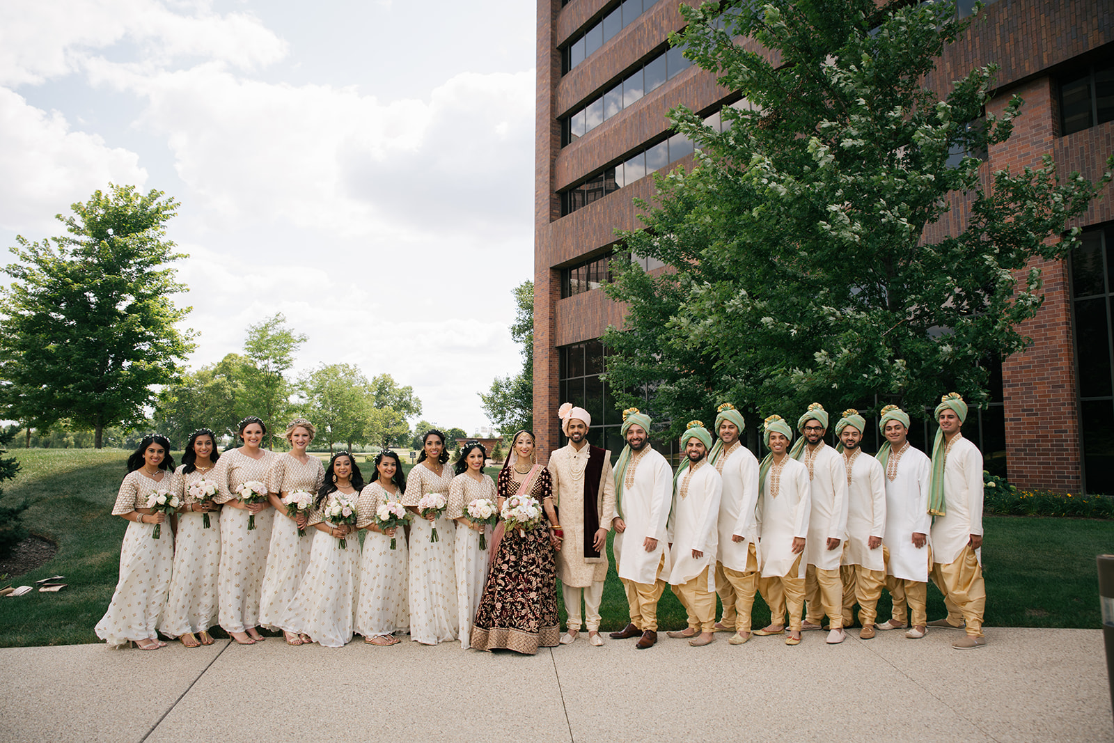 To the Best Bridal Party ever - All 16 of them!