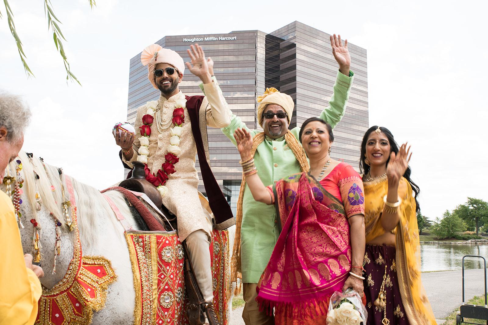 Le Cape Weddings - Puja and Kheelan - Baraat -1-2.jpg