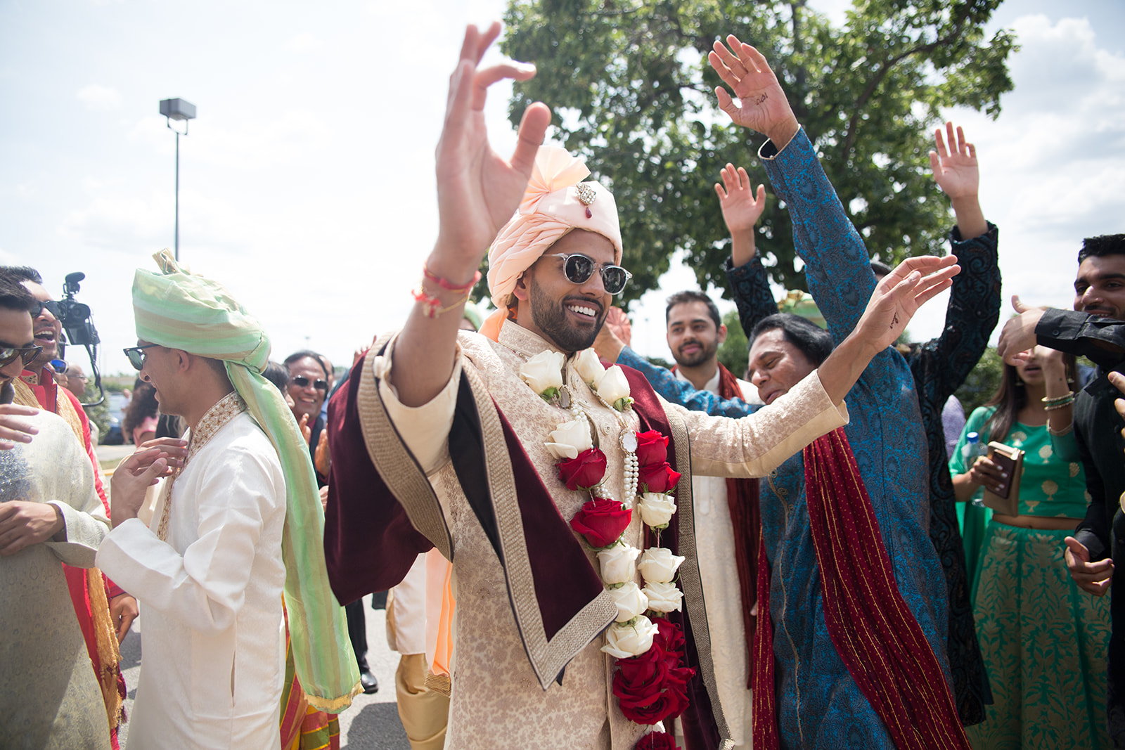 Le Cape Weddings - South Asian Wedding - Puja and Kheelan - Baraat Adds 5.jpg
