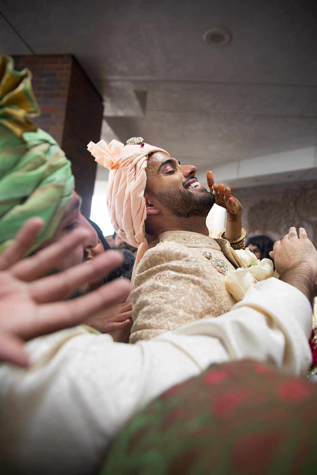 Le Cape Weddings - South Asian Wedding - Puja and Kheelan - Baraat Adds 34.jpg