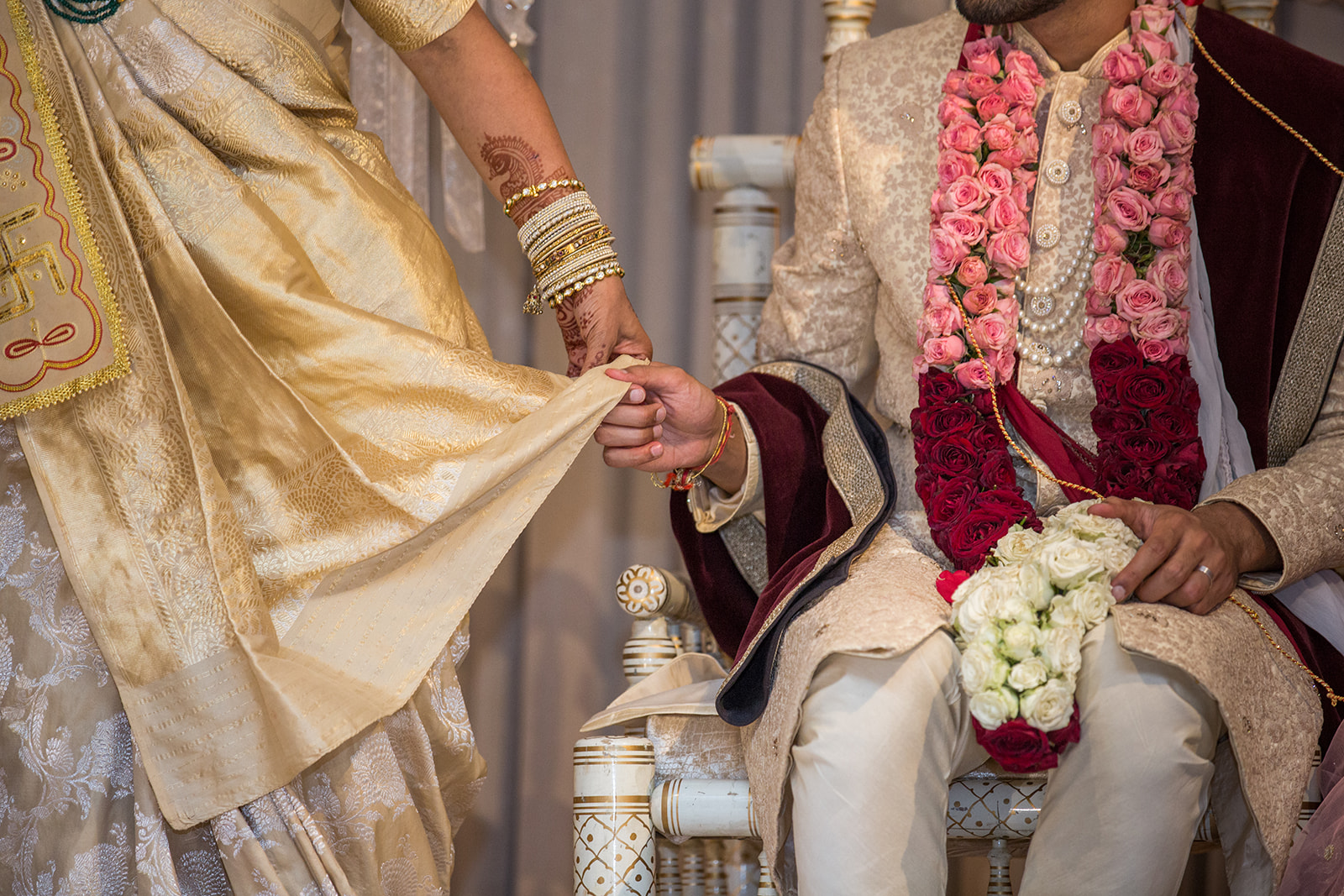 Le Cape Weddings - South Asian Wedding - Puja and Kheelan - Ceremony Adds 46.jpg