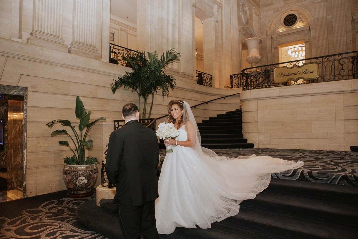 Le Cape Weddings - Laila and Anthony - Chicago Wedding - First Look and Couple Portraits -14.jpg