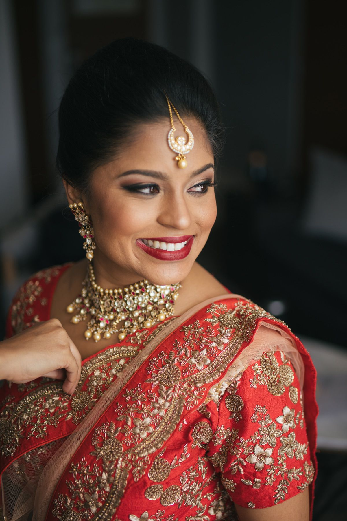 Le Cape Weddings - South Asian Wedding - Trisha and Jordan - Bride Getting Ready AM --19.jpg