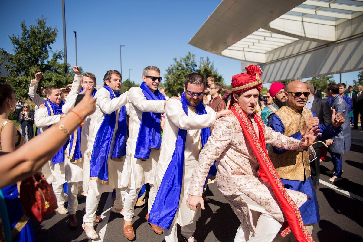 Le Cape Weddings - South Asian Wedding - Trisha and Jordan - Baraat-37.jpg