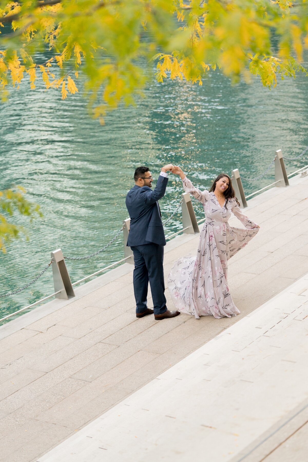 Le Cape Weddings - Chicago Engagement Session - Kinjal and Pratik -23.jpg