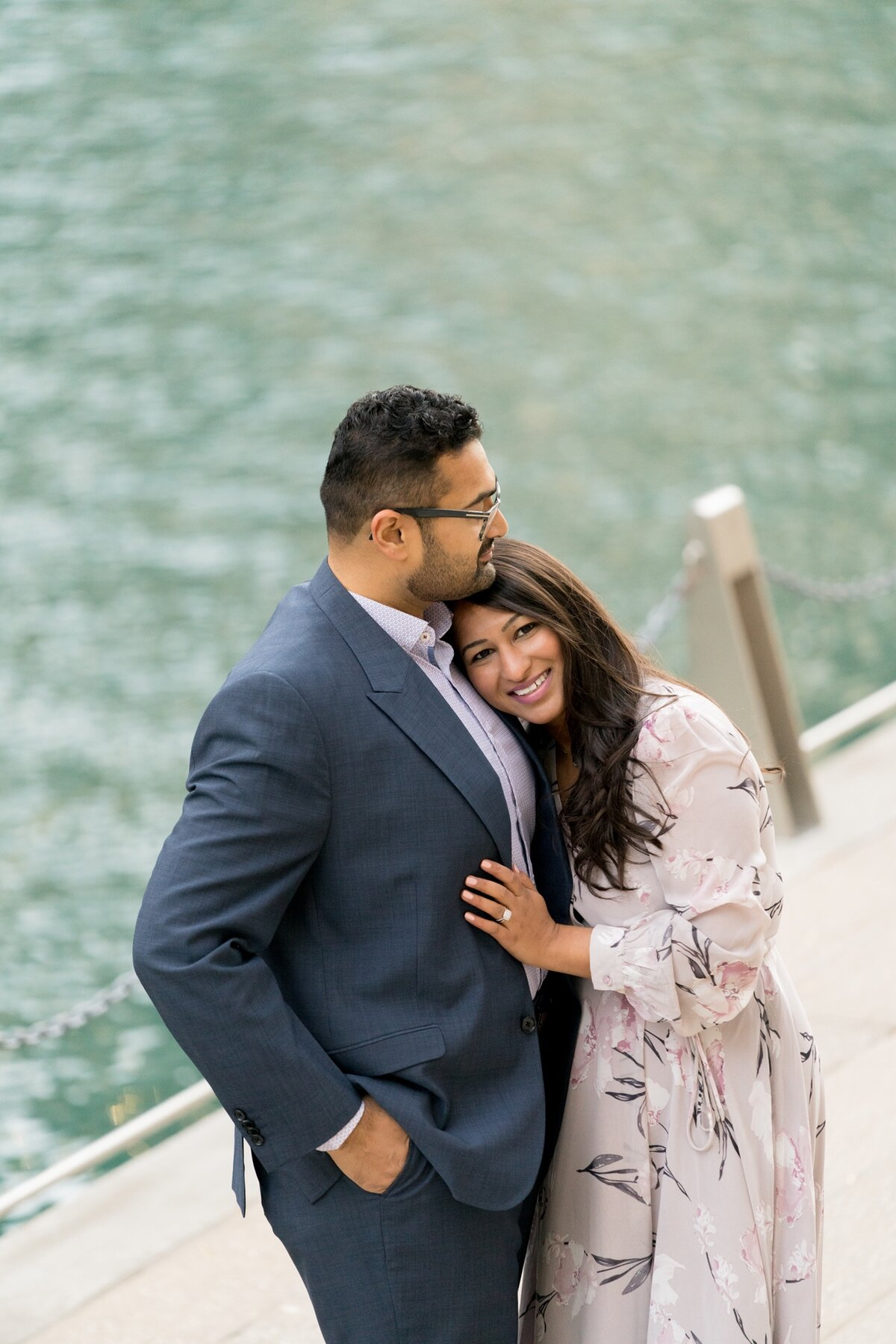 Le Cape Weddings - Chicago Engagement Session - Kinjal and Pratik -25.jpg