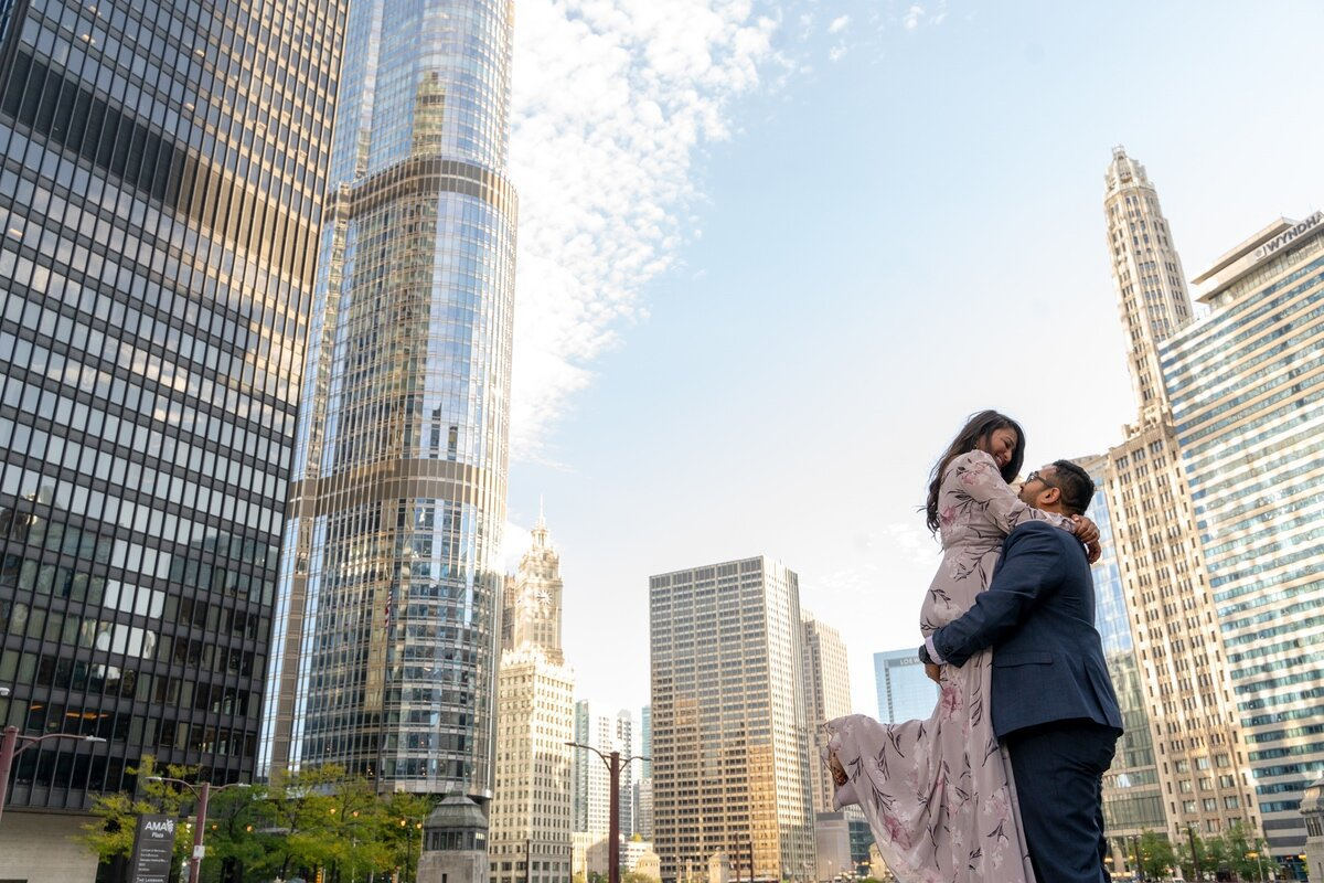 Le Cape Weddings - Chicago Engagement Session - Kinjal and Pratik -20.jpg