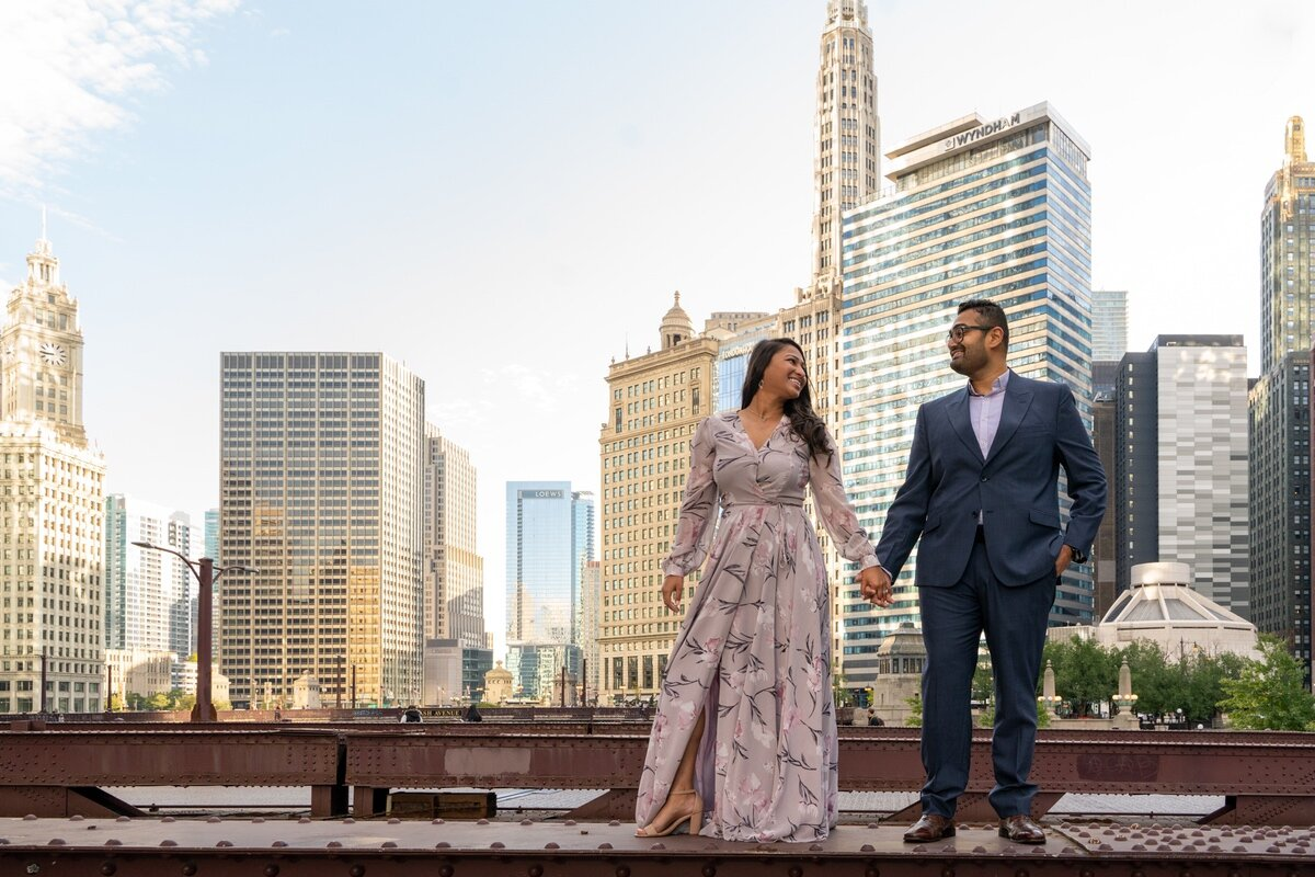 Le Cape Weddings - Chicago Engagement Session - Kinjal and Pratik -21.jpg