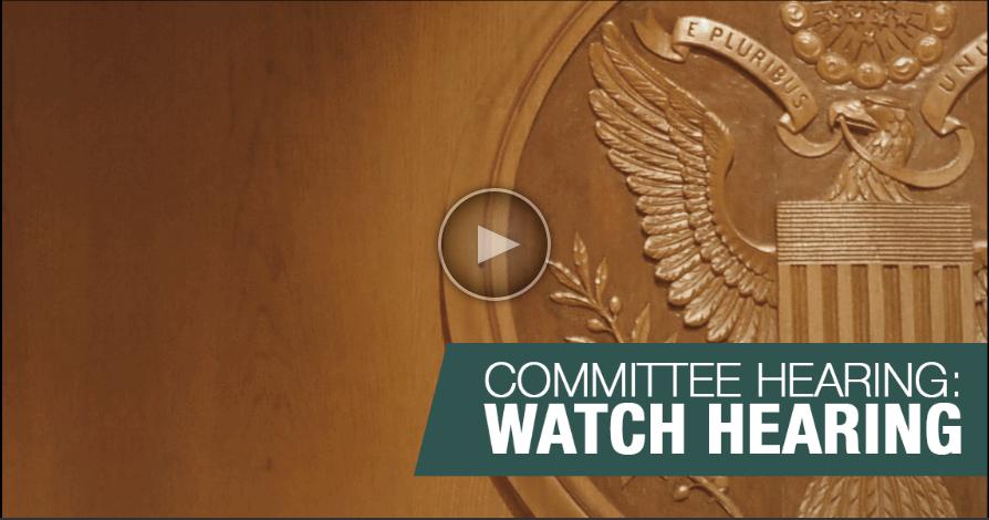 Committee on Finance, U.S. Senate, Washington DC.