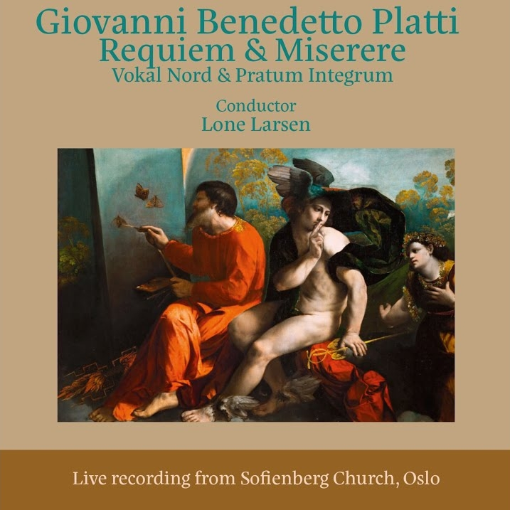 Giovanni benedetto platti   : requiem & miserere (2017)  Pavel Serbin of the Pratum integrum baroque ensemble from russia, found the partitures of these compositions by the italian composer platti. Pratum integrum and vokal nord got together performing the music.     play in spotify
