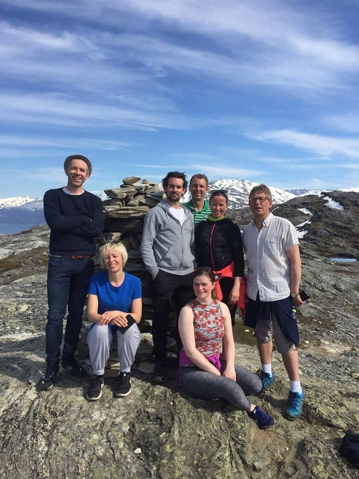 Nord- Norge viste seg fra sin beste side og gav rom for litt frisk luft mellom slagene