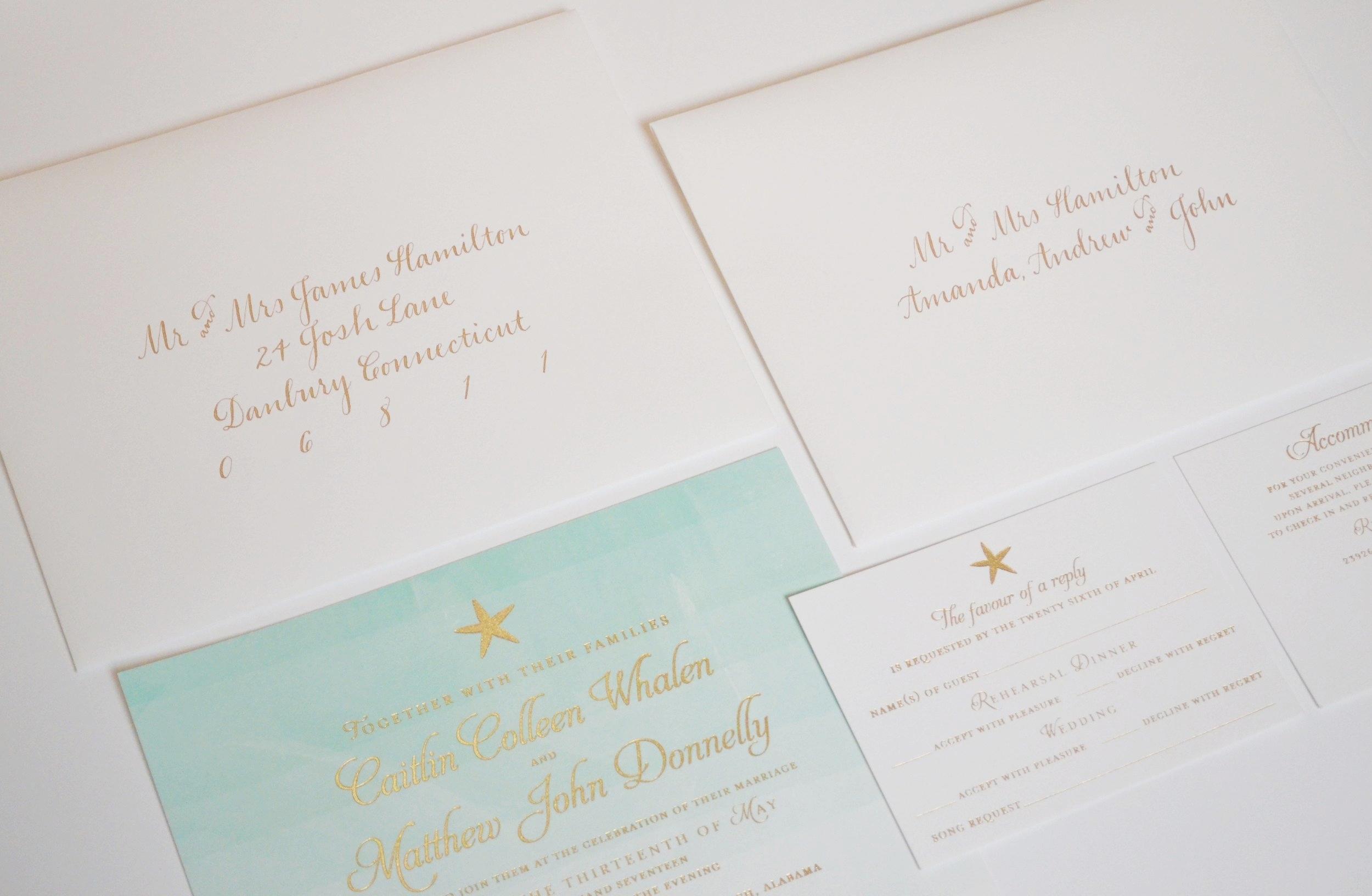 Addressing Your Wedding Invitations Jenna Laine Weddings