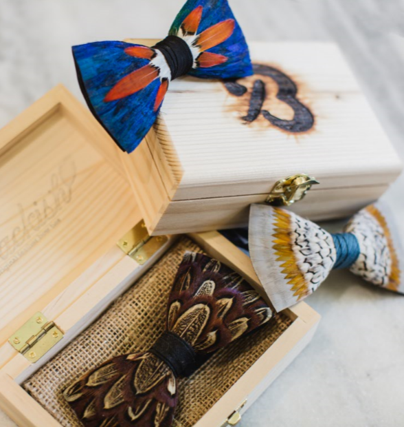 Brackish Bow Ties start at $185.00.
