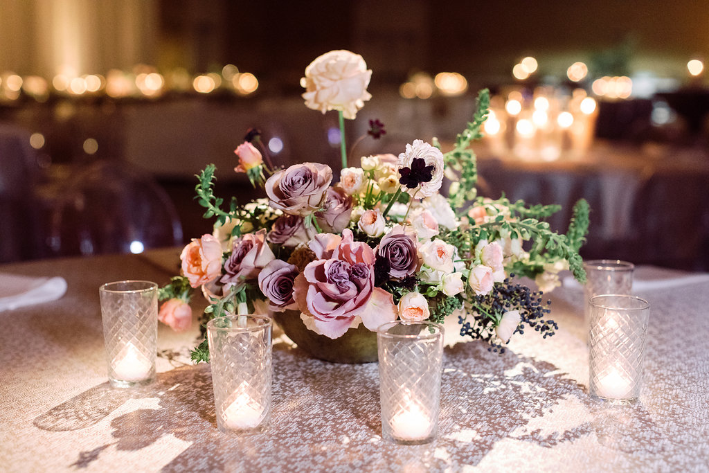 Lighting:  Willow Bridge, INC  Florist:  Jenn Sanchez Flowers  Photographer:  Sarah Kate Photography
