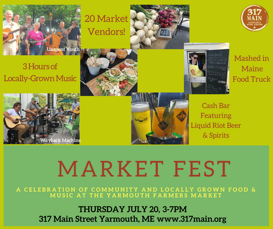 Market Fest at Yarmouth Farmers Market