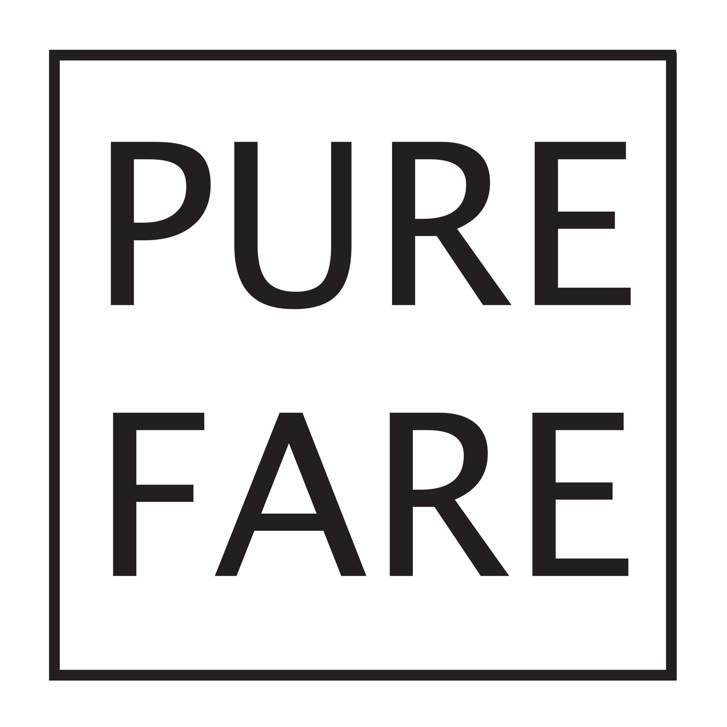 Pure Fare Logo w Borders.jpg