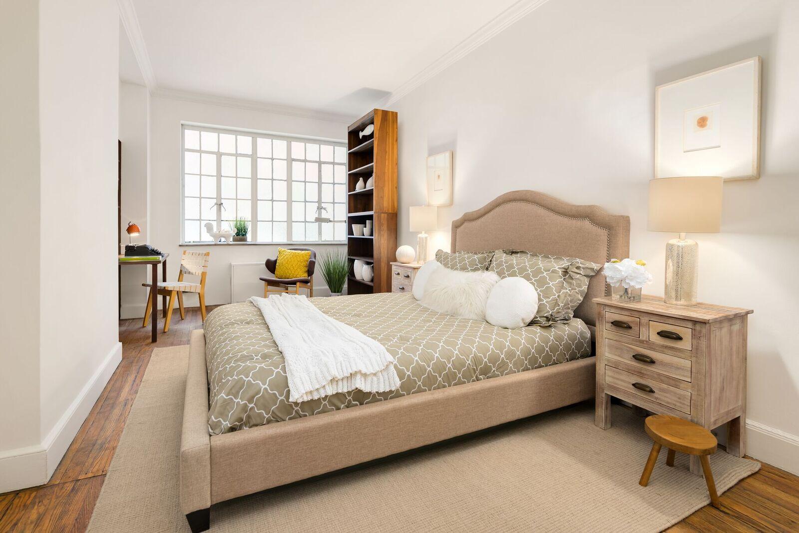 After: Tudor City Estate Master Bedroom