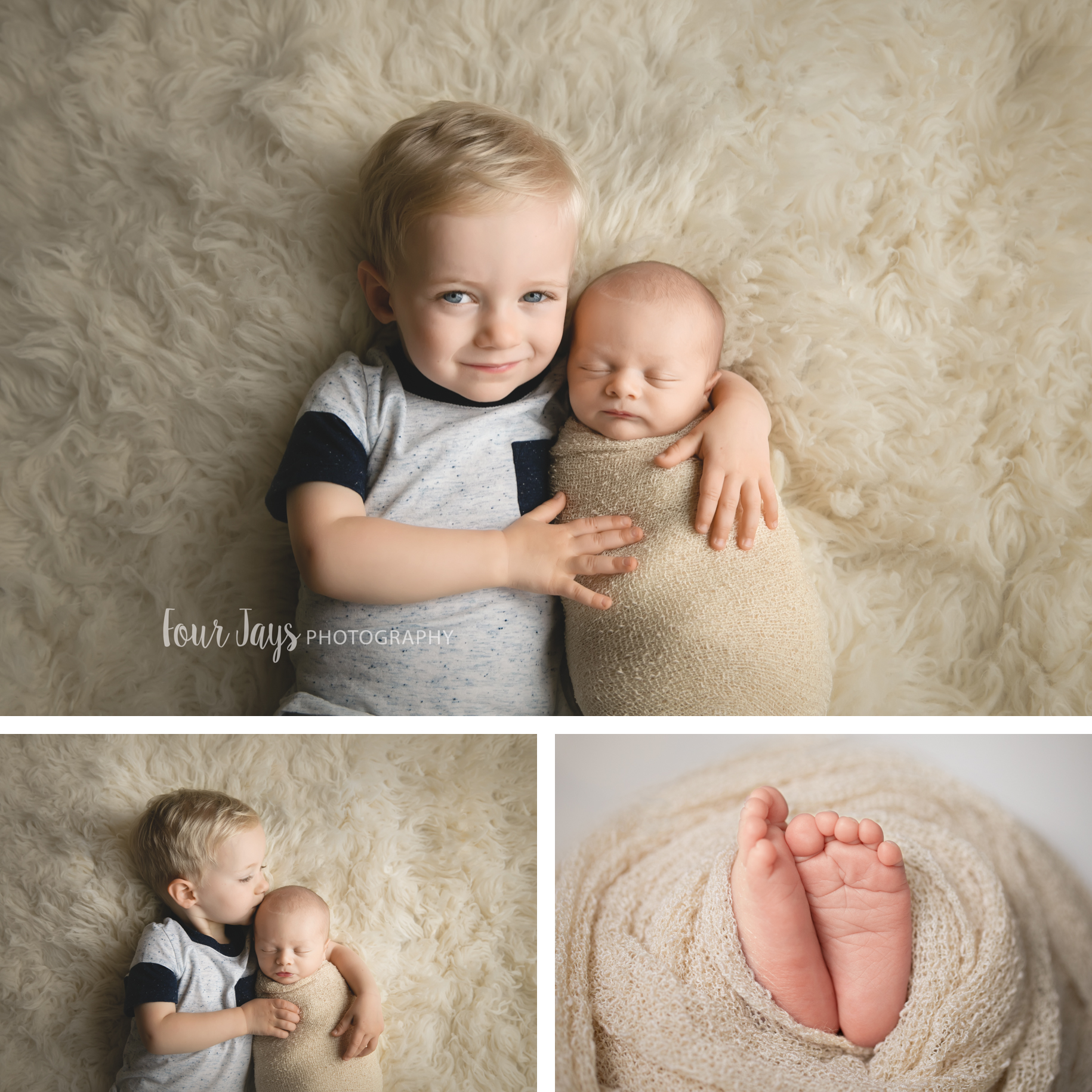 Best newborn in home sibling photographers oregon city.jpg