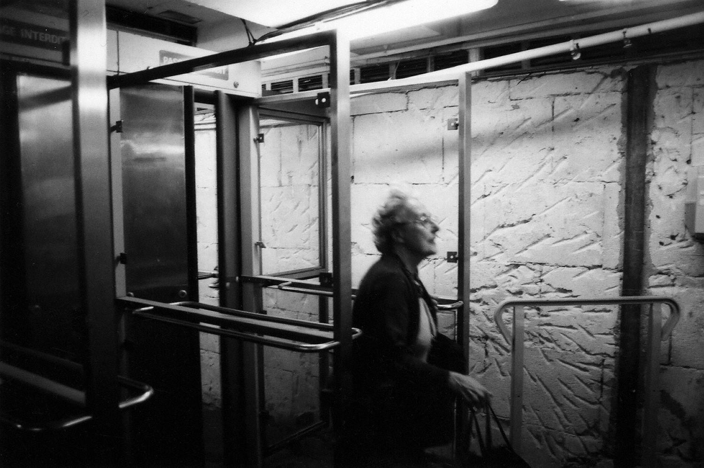 Paris: Leaving the Metro