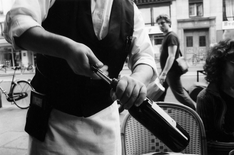Paris: Vin Rouge on the Rue De Rivoli