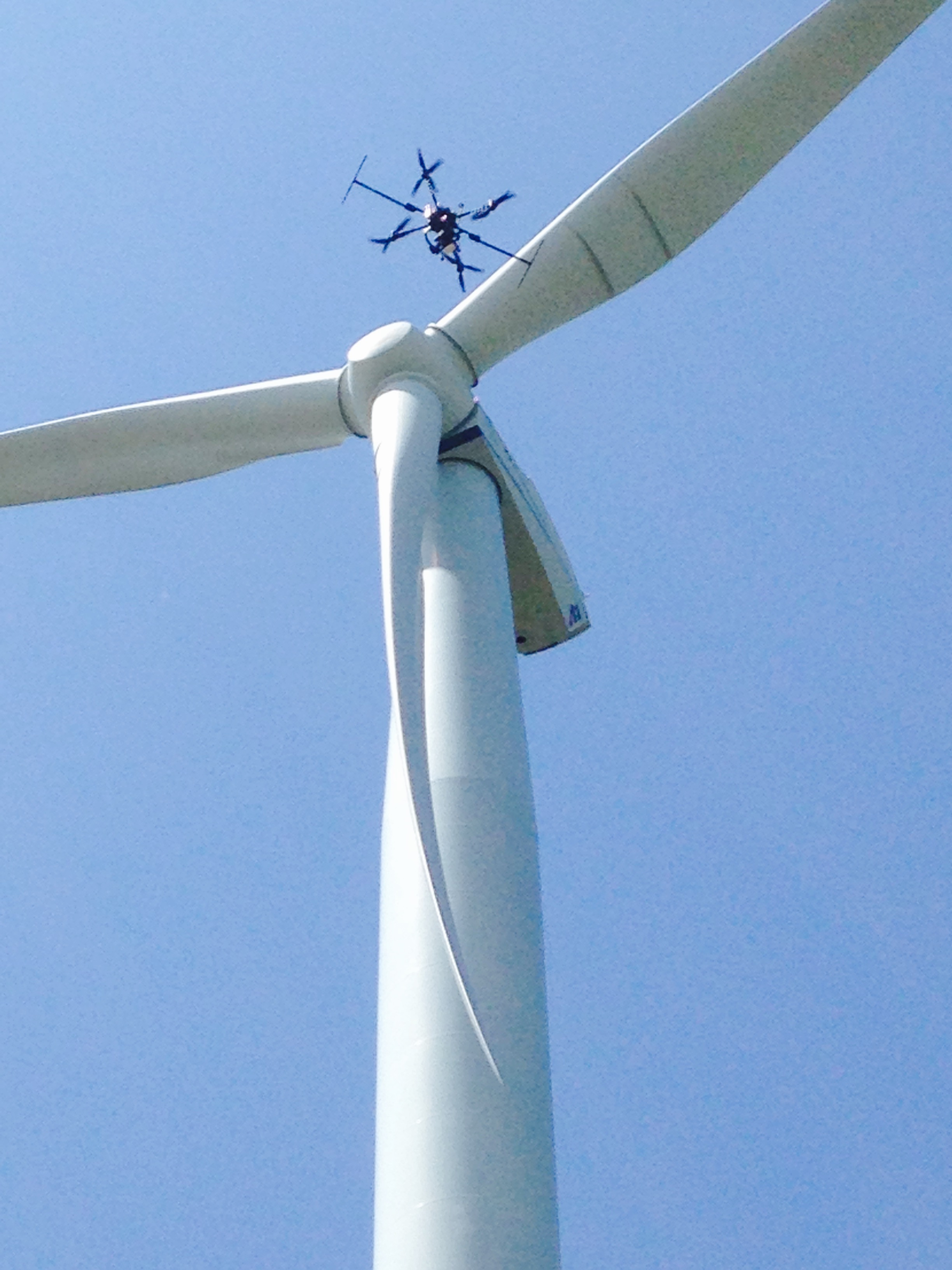 Drone wind turbine inspections provide a safer, cost-effective and data-driven solution
