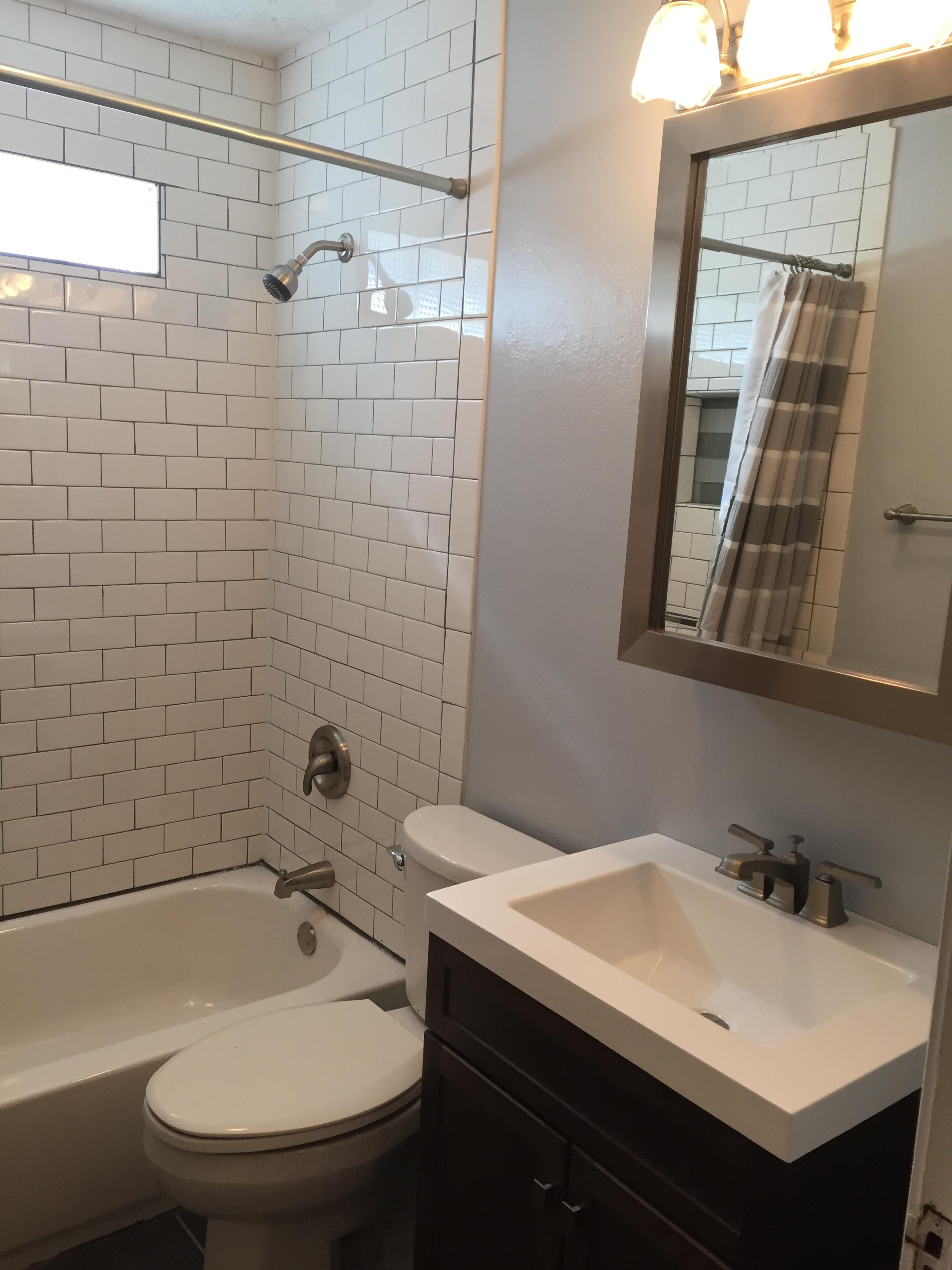 Bathroom Remodel - After