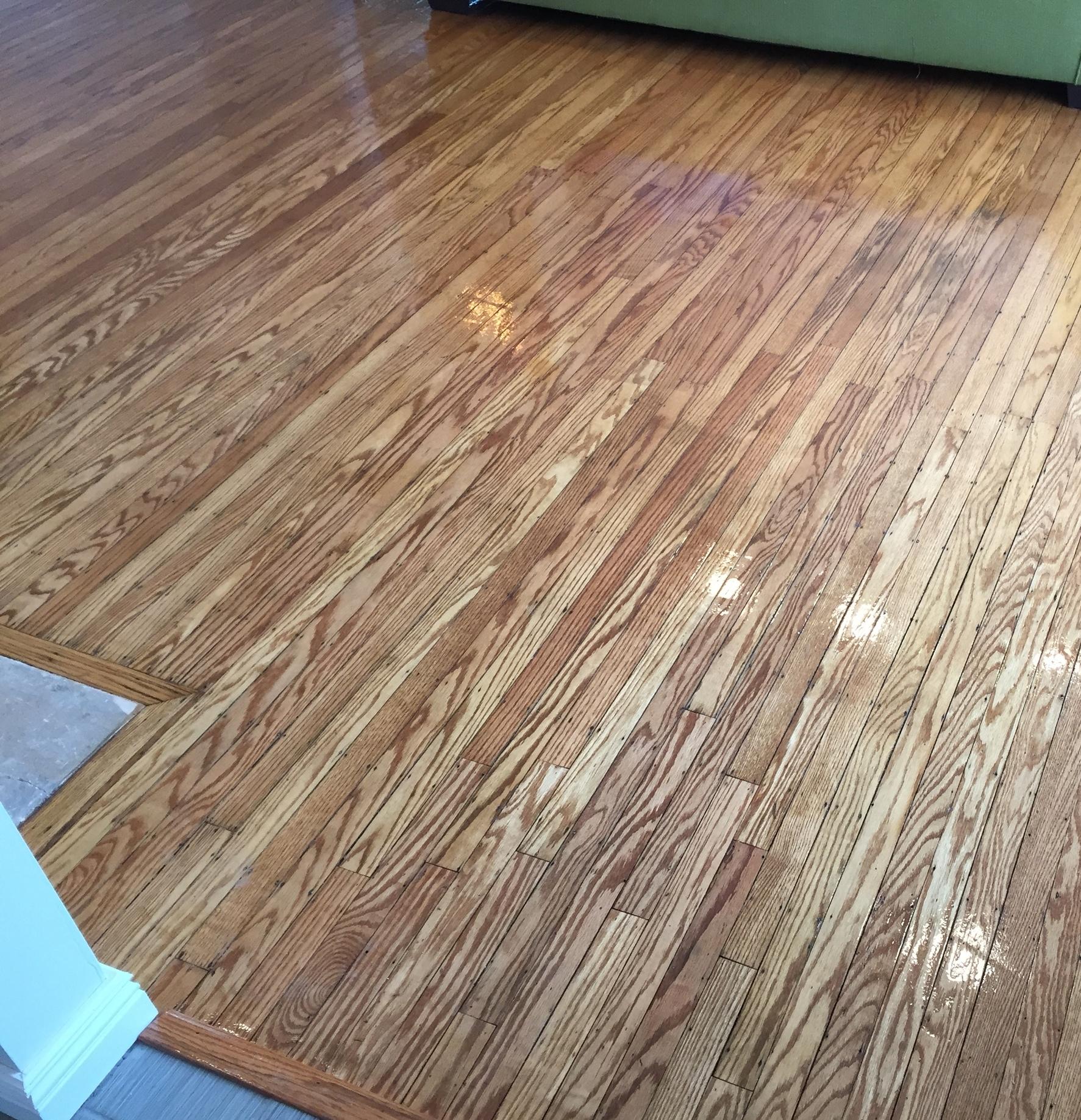 Reclaimed Hardwood Installation