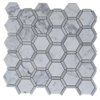 Honey Comb Carrara