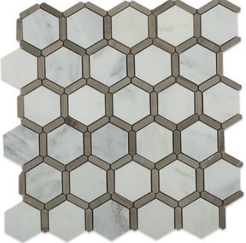 Honey Comb Athens Grey Carrera
