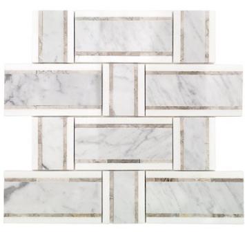 Isabella Temple Grey Carrara