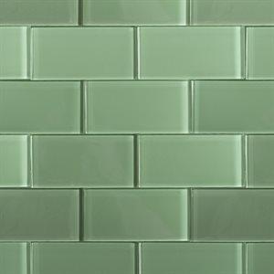 Spa Green 3x6 Polished